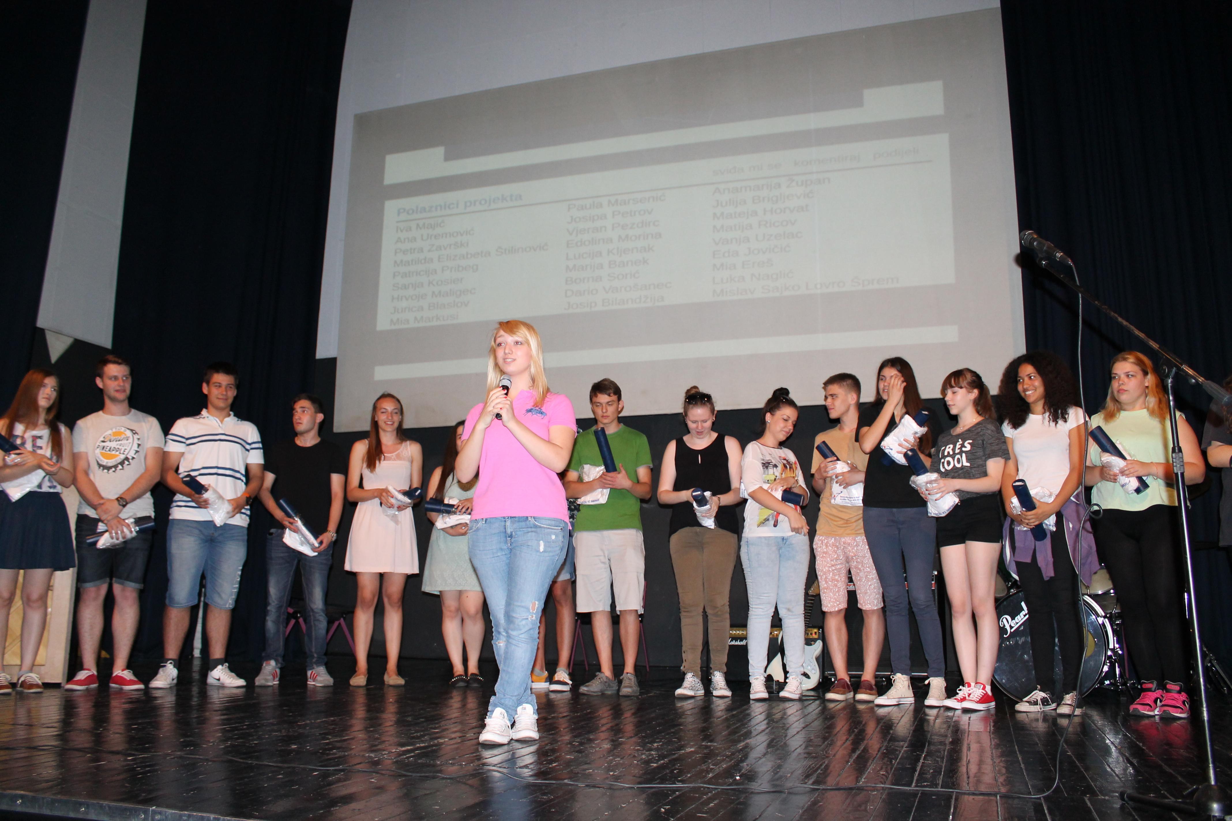 Održano svečano zatvaranje projekta za učenike